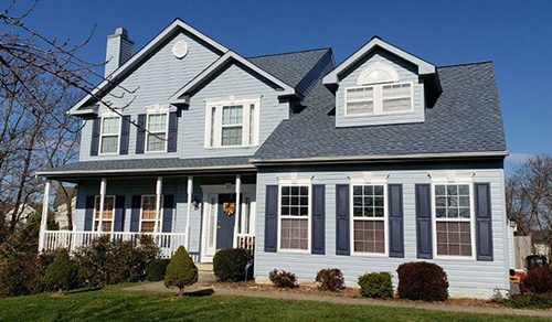 Exterior House Siding Replacement